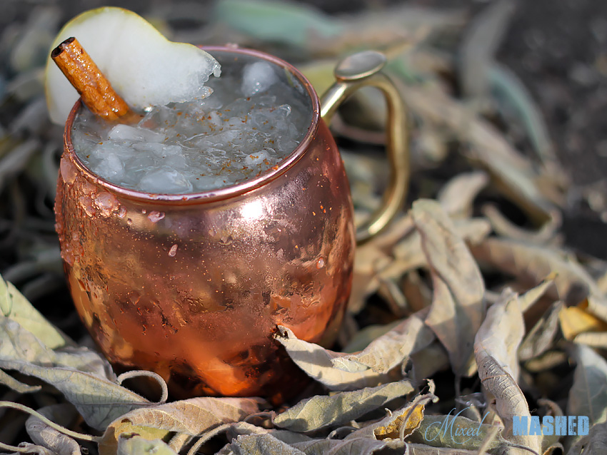Autumn Pear Moscow Mule