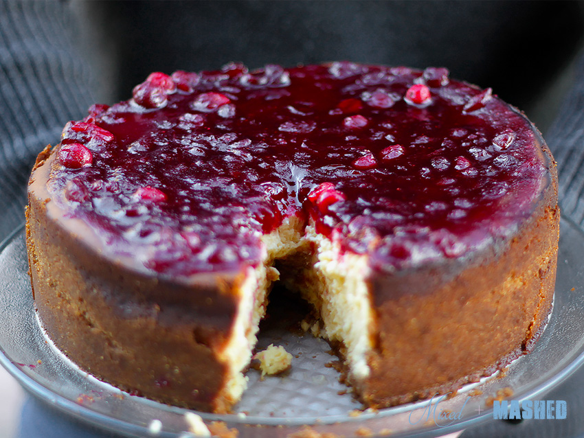 Cheese-Cake-Cranberry
