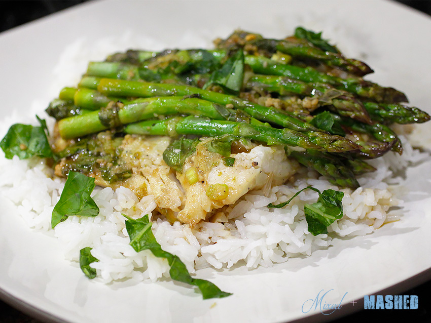 ginger-lime-cod-with-asparagus-cooked-in-parchment-plated