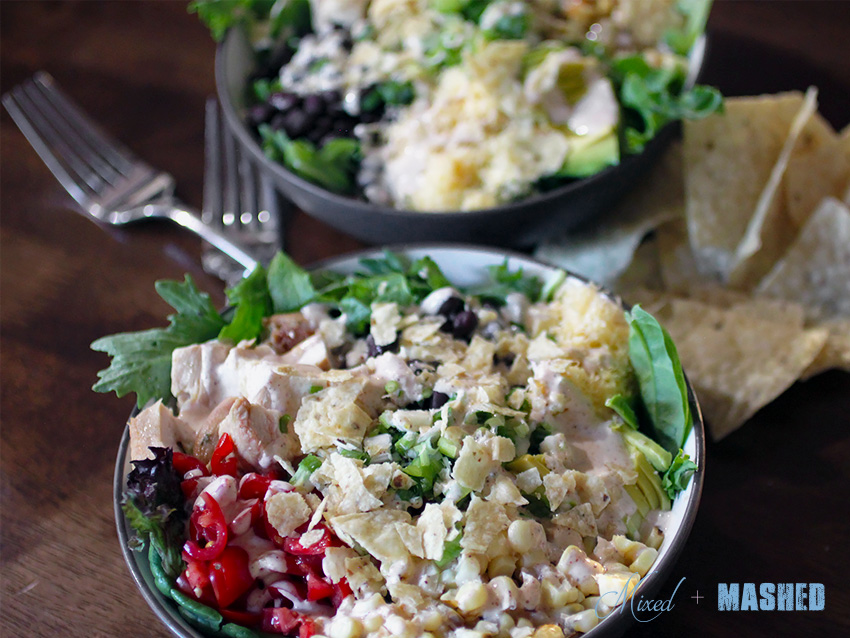 Healthy-Southwestern-Ranch-Salad-plated
